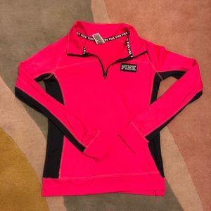 VS Pink Ultimate Long Sleeve Hot Pink